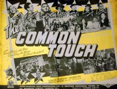 The Common Touch 1941 DVD - Greta Gynt / Geoffrey Hibbert